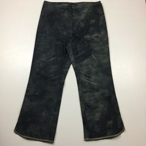 NEW COP-COPINE France Tie Dye Cropped Pants